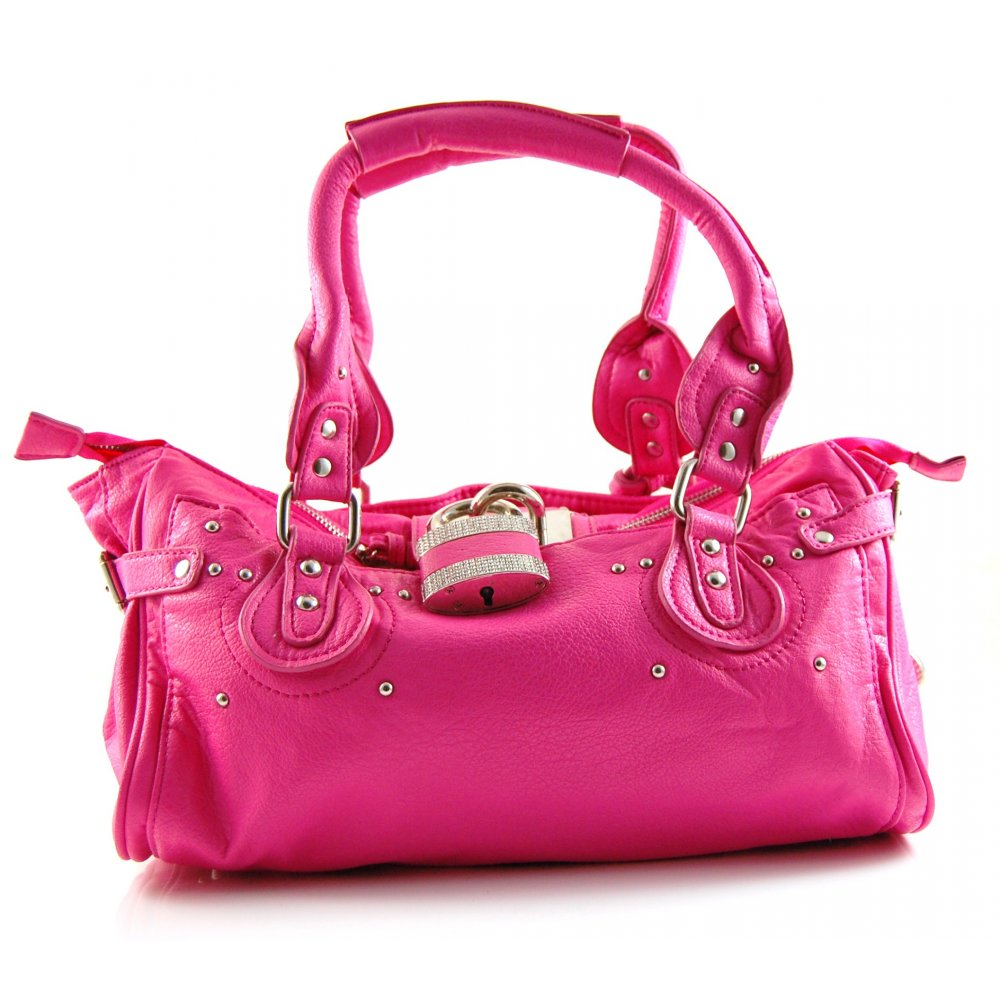 Elegance Of Living Pink Handbags