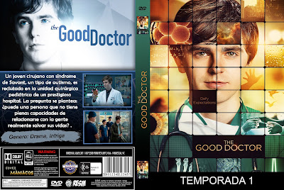 CARATULA THE GOOD DOCTOR - EL BUEN DOCTOR - 2017 [COVER-DVD]