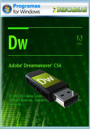 Descargar Adobe Dreamweaver CS6 portable español mega y google drive /