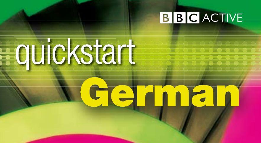 الكورس الصوتي الرائع quickstart german للمبتدئين