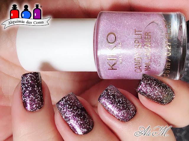 Kiko Milano, Candy Split Limited Edition Collection, 01 - Golden Icing Sugar, 02 - Cotton Candy Rose, 03 - Periwinkle Cream, 04 - Tiffany Macaron, OPI, Hello Kitty, Never Have Too Mani Friends!, Alê M 2018, DRK Nails
