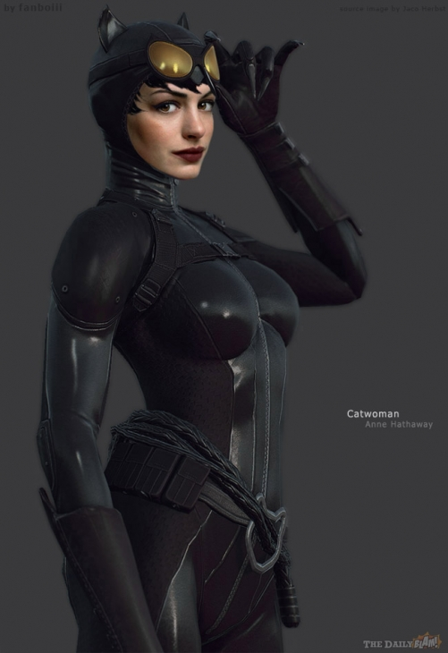Catwoman Makeup Anne Hathaway Anne Hathaway As Catwoman