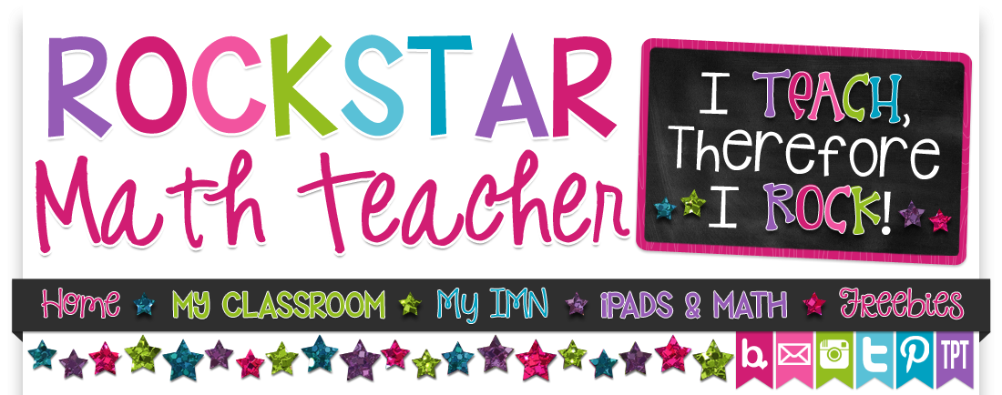 ★ Rockstar Math Teacher ★