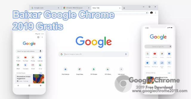 Baixar Google Chrome 2019 Gratis