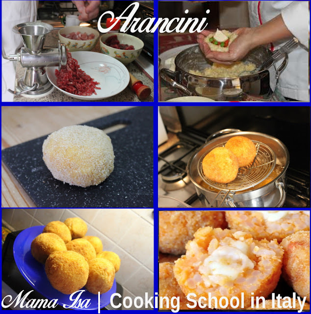 Mama Isa's Cooking School in Italy Venice - Arancini Cooking Classes