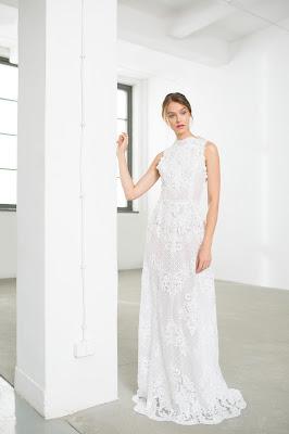 koronkowa suknia ślubna boho