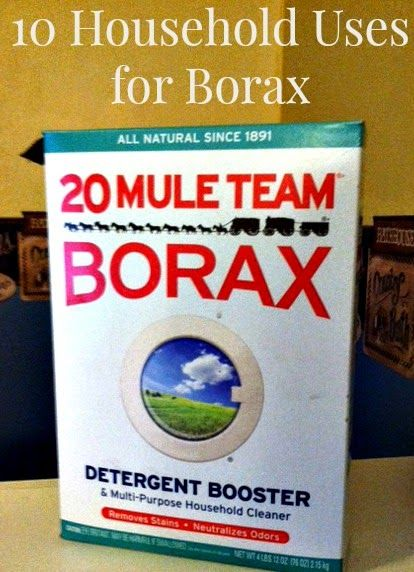 It S All Good In Mommyhood 10 Household Uses For Borax