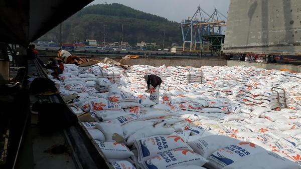 33.600 Ton Beras Impor Masuk Indonesia
