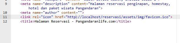 Contoh Request tanpa HTTPS