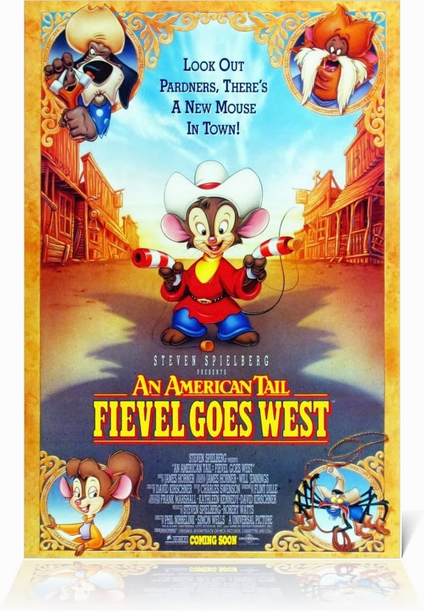 Watch An American Tail 2 Fievel Goes West (1991) Online For Free Full Movie English Stream