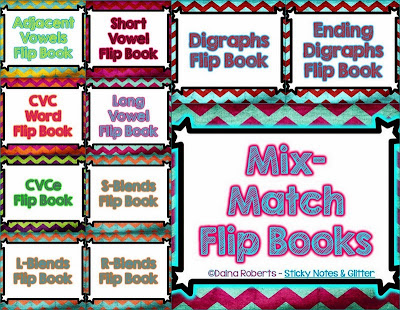 http://www.teacherspayteachers.com/Product/Mix-Match-Flip-Books-6-Versions-for-Differentiation-ELA-Edition-980655