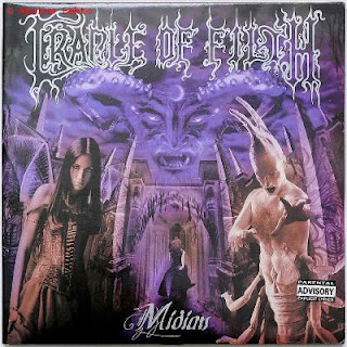 "La pochette de l'album ""Midian"" de Cradle of Filth"