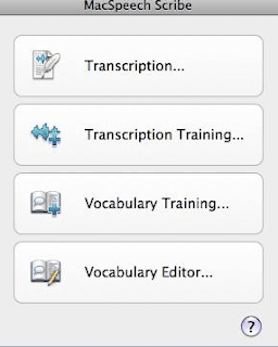 Mac Speech Scribe