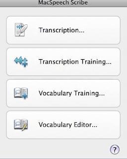 Mac Speech Scribe