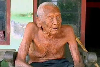 Indonesian officials have revealed the picture of the world's oldest man, Mbah Gotho who is believed to be 145-years-old and claims he is ready to die.