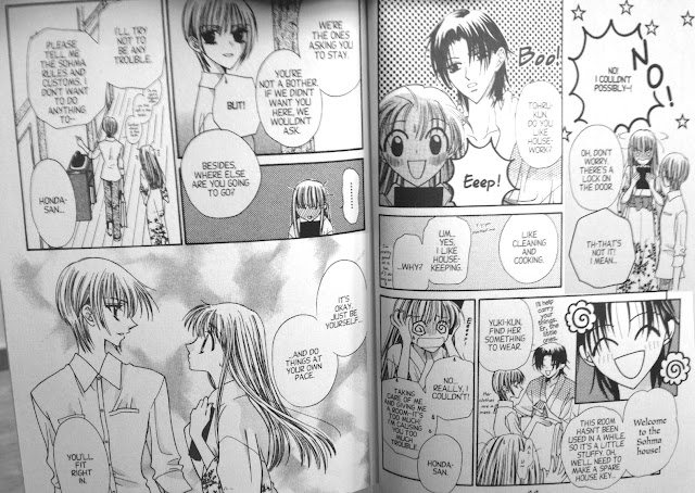 random page from Fruits Basket chapter 1