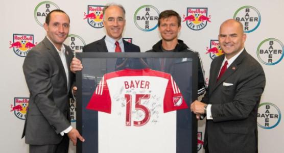 Bayer llega a la MLS a través de los New York Red Bulls
