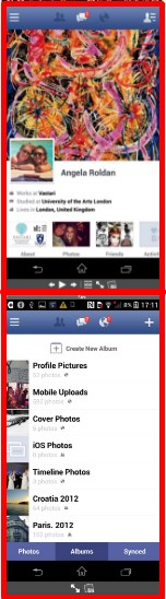 how to change profile picture on facebook through android