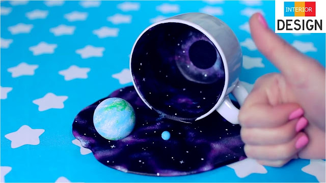 DIY Universe In A Cup Miniature Cosmos With Galaxies 70