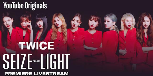 Twice Seize the Light Premiere Livestream