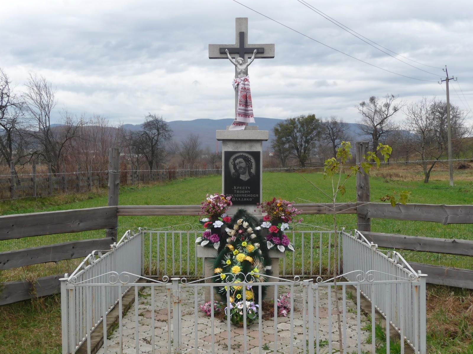 Ольховица. Поклонный крест