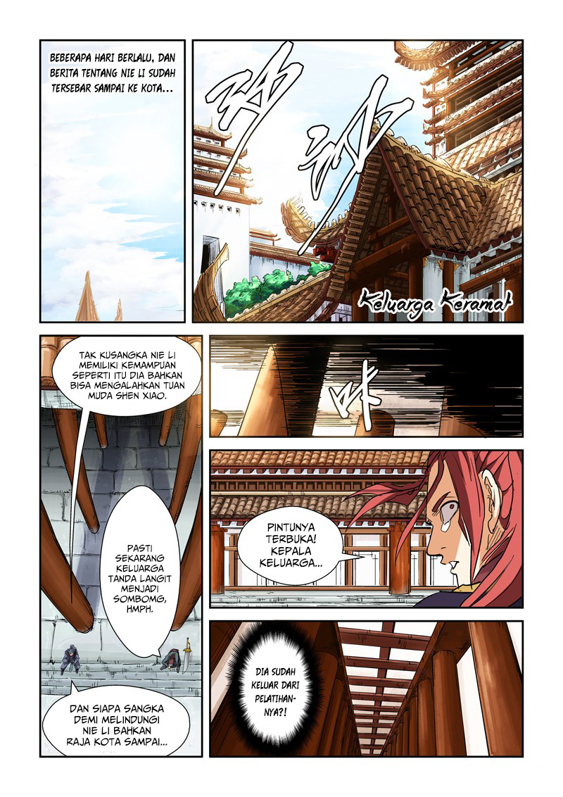 Tales of Demons and Gods Chapter 107.5