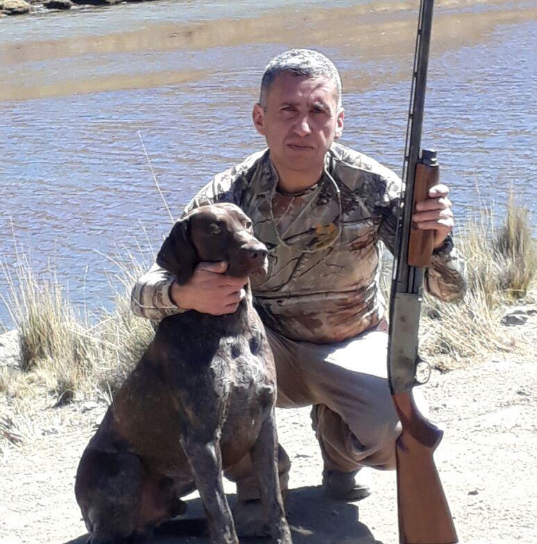 Cardozo, aficionado al tiro deportivo posee una colección de armas certificadas / FACEBOOK