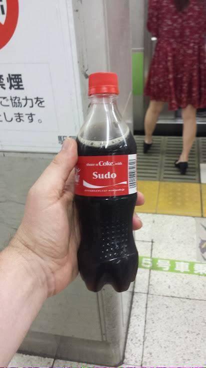 coca cola sudo