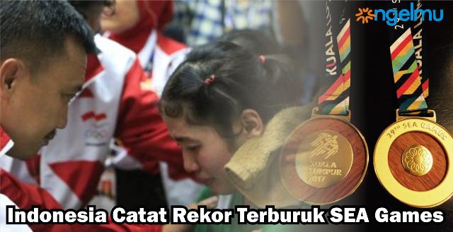 Resmi, Indonesia Catat Rekor Terburuk di SEA Games Kuala Lumpur 2017