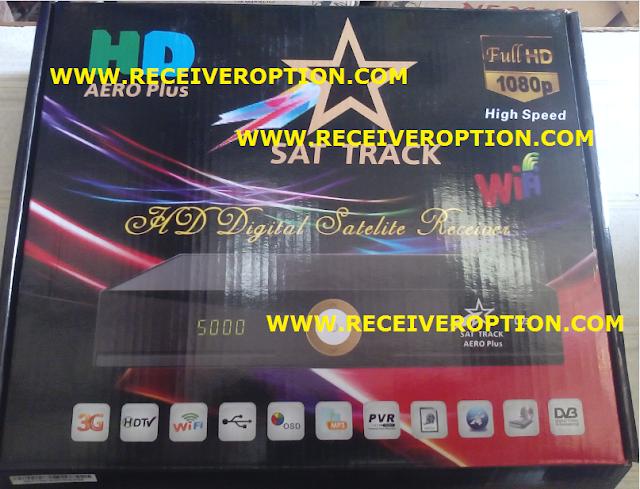 SAT TRACK AERO PLUS HD RECEIVER FLASH FILE