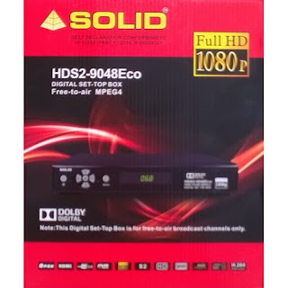 SOLID Replaced Set-top Box HDS2-9048 to HDS2-9048Eco