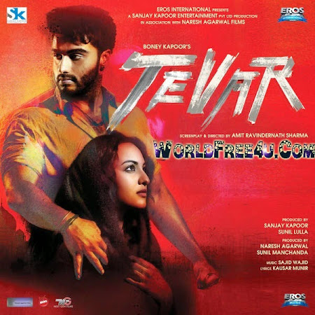 Poster Of Tevar (2015) All Full Music Video Songs Free Download Watch Online At worldfree4u.com