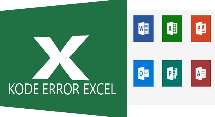 Pesan Error dan  Penyebab terjadinya pada Rumus Excel