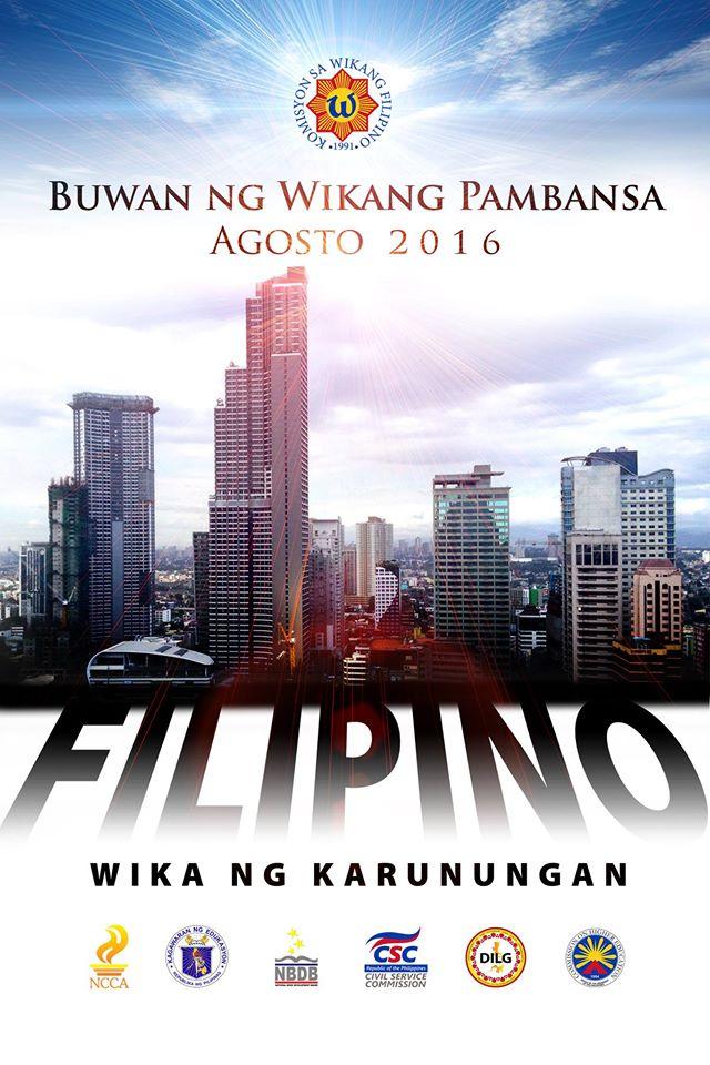 Example of slogan for buwan ng wika?