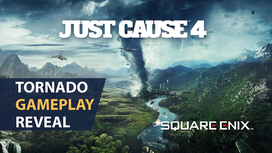 just cause 4 gameplay trailer tornado