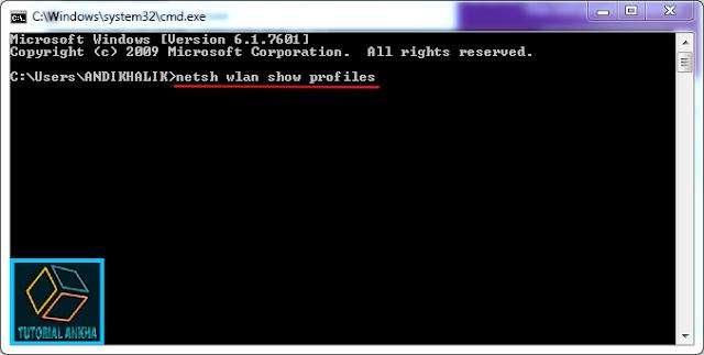 Cara mengetahui Password Wifi pada Windows 8, 8.1, dan 10  dengan CMD