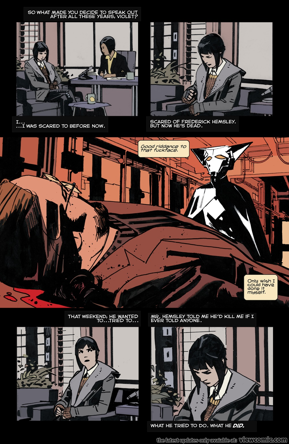 Mother Panic 008 (2017)  | Vietcomic.net reading comics online for free