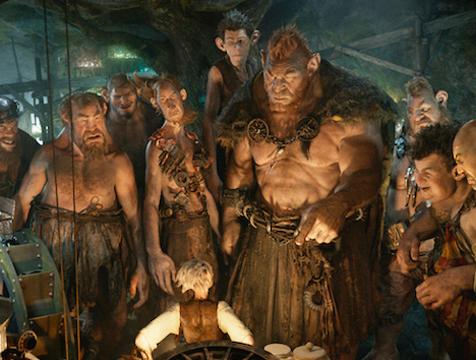 El gran gigante bonachón y los otros nueves gigantes en Mi amigo el gigante. The BFG - Cine de Escritor