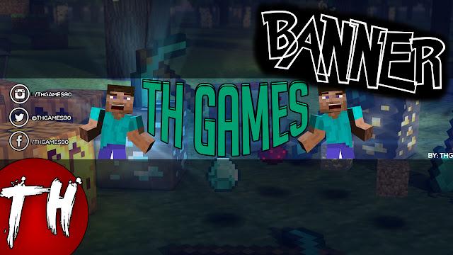 Minecraft Banner Cartoon