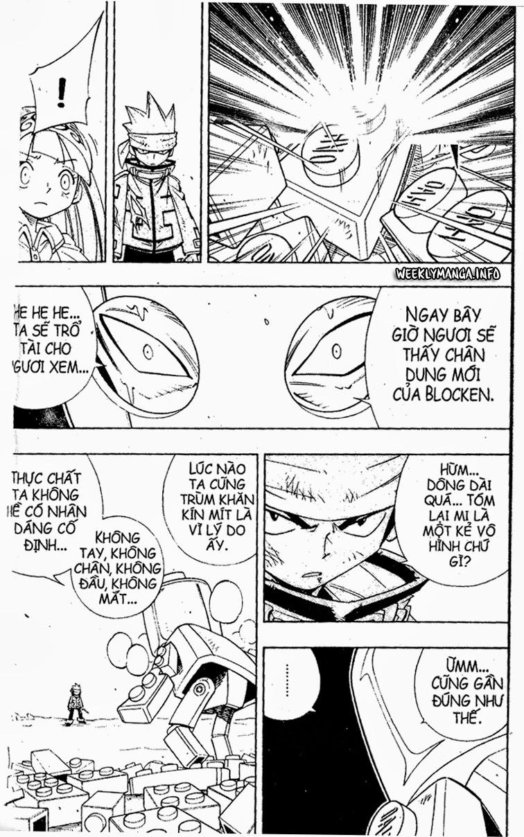 Shaman King [Vua pháp thuật] chap 184 trang 10