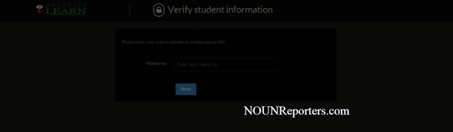 How to Create your Profile and Join Virtual Classroom on NOUNiLearn After Course Registration 2