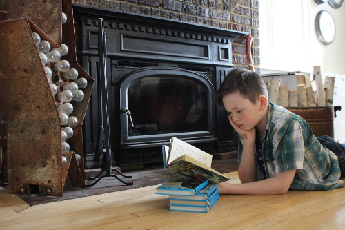 What We're Reading in April 2020---book list of a homeschooling family of 7
