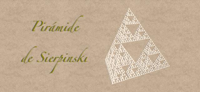 Pirámide de Sierpinski