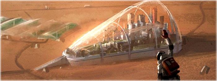 Emirados Árabes Unidos - colônia em Marte