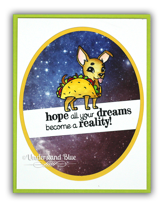Galaxy Taco Doge Card by understand blue