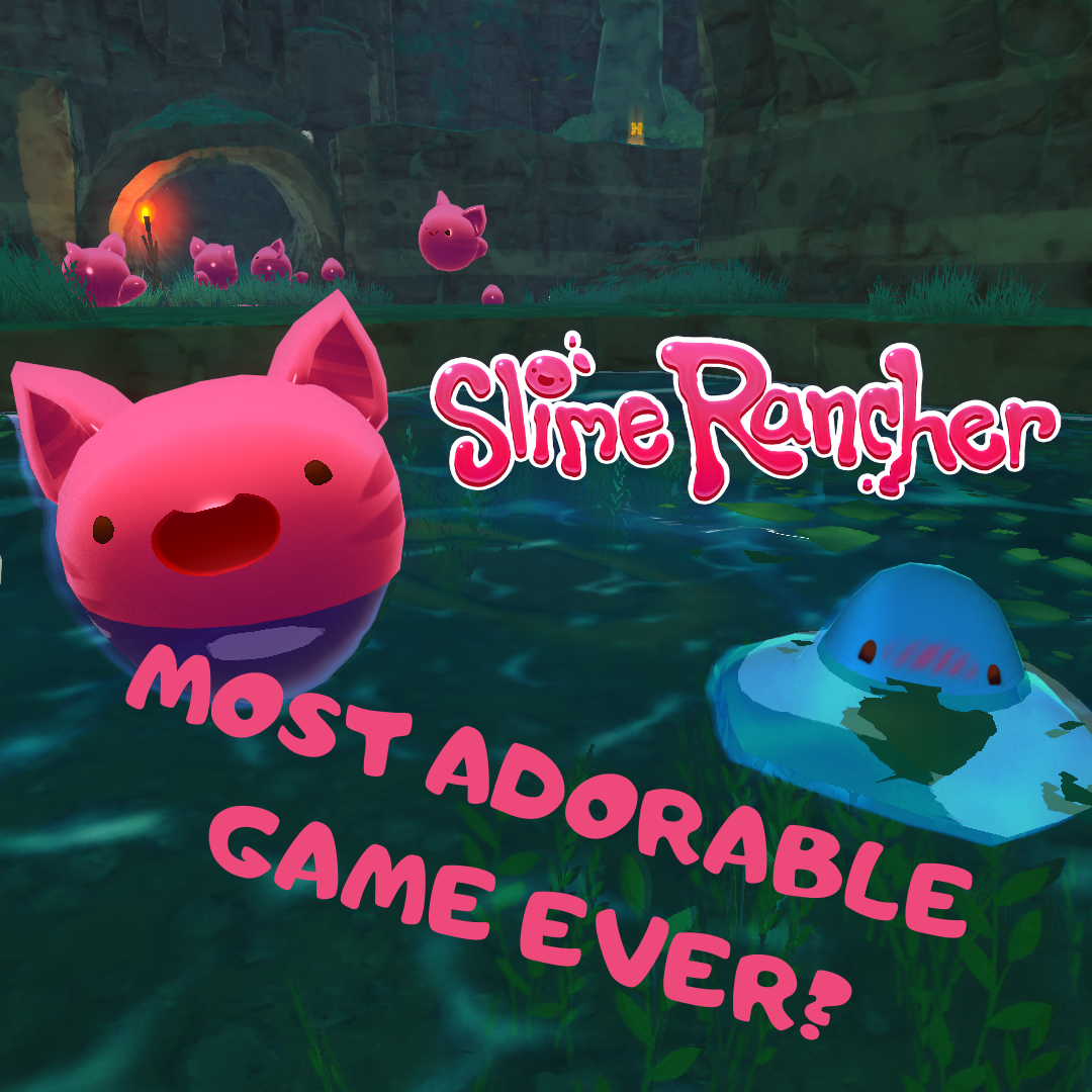 MOST ADORABLE GAME EVER? Slime Rancher Game Review! | Only Fun Things!