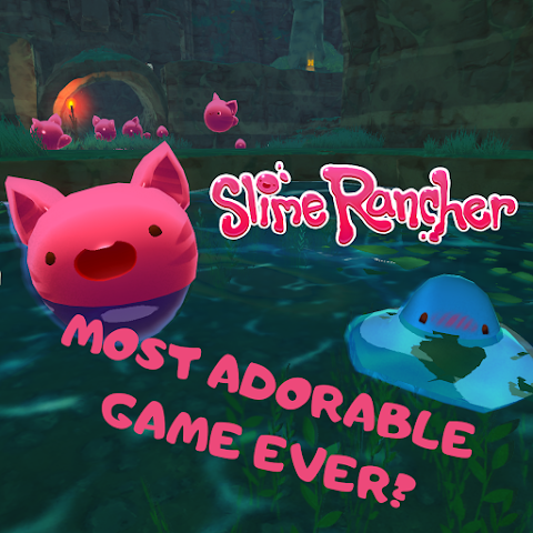 MOST ADORABLE GAME EVER? Slime Rancher Game Review!