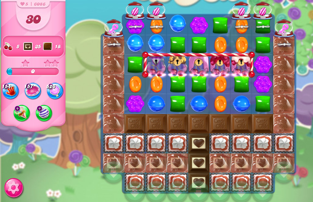 Candy Crush Saga level 6086