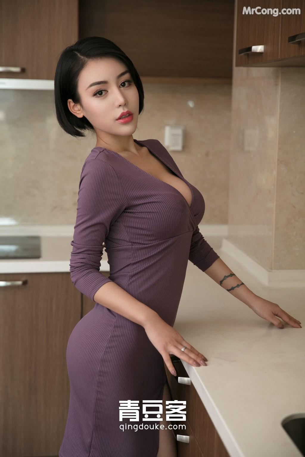 Image QingDouKe-2017-11-22-Lu-Zi-Qi-MrCong.com-002 in post QingDouKe 2017-11-22: Người mẫu Lu Zi Qi (陆梓琪) (51 ảnh)