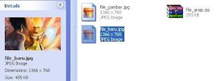 Cara Menyembunyikan File Zip Ke Dalam Gambar